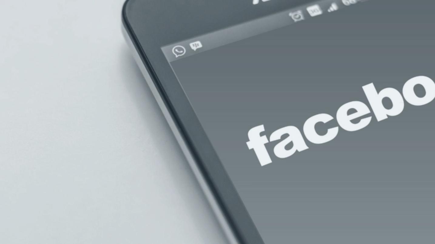 mobile phone, facebook